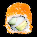 Maki avocado krab