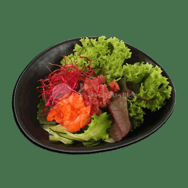 Sashimi salade