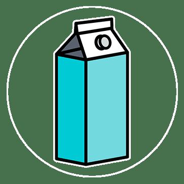 Bevat melk (aanpasbaar)