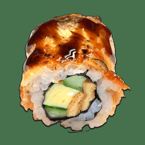 109 Maki geflambeerde tonijn