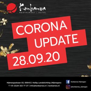 Konbanwa Corona update 28-09-2020