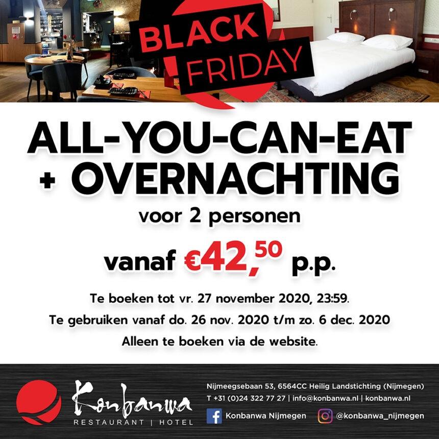 Konbanwa Black Friday 2020 hotel deal