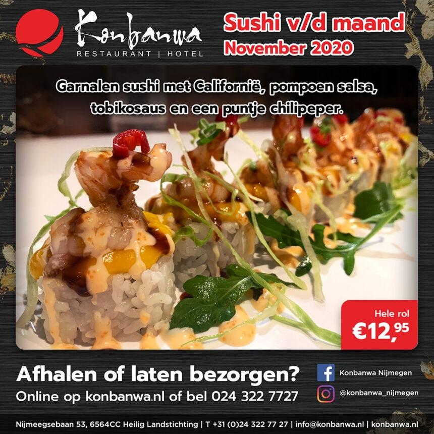Sushi v/d Maand - November 2020