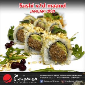 031 Sushi v/d maand - Januari 2021