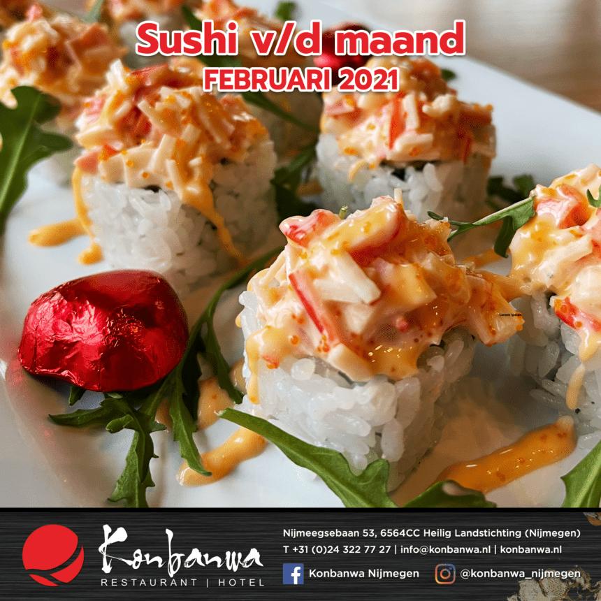031 Sushi v/d maand - Februari 2021