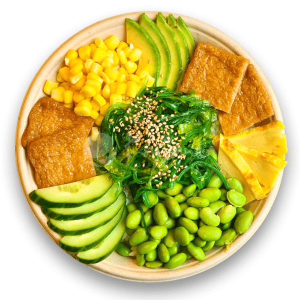 Poké bowl vegetarisch