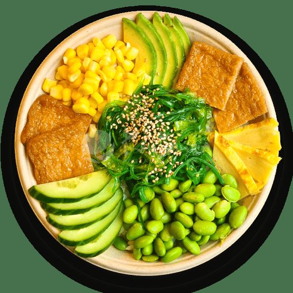 Poké bowl vegetarisch