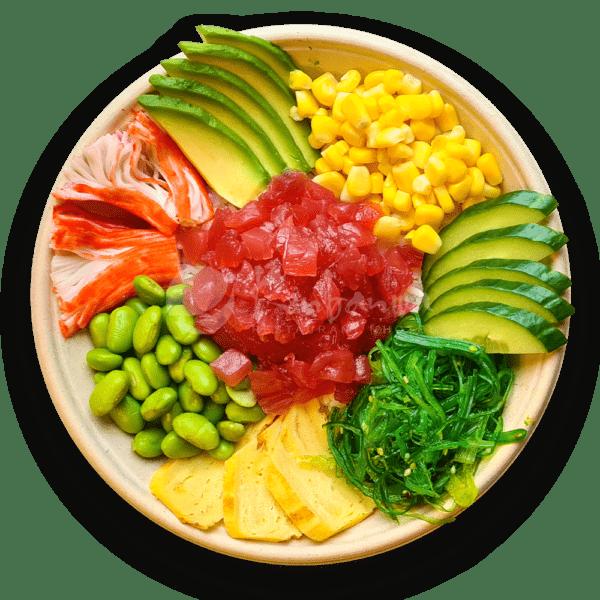 Poké bowl tonijn
