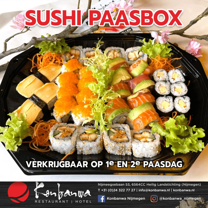 Sushi Paasbox Konbanwa