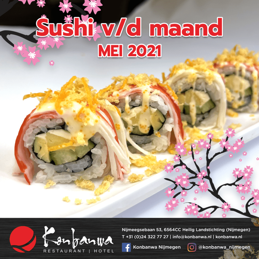 031 Sushi vd Maand - Mei 2021