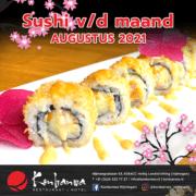 031 Sushi vd Maand - Augustus 2021