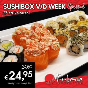 Sushibox v/d week 2021-09-13