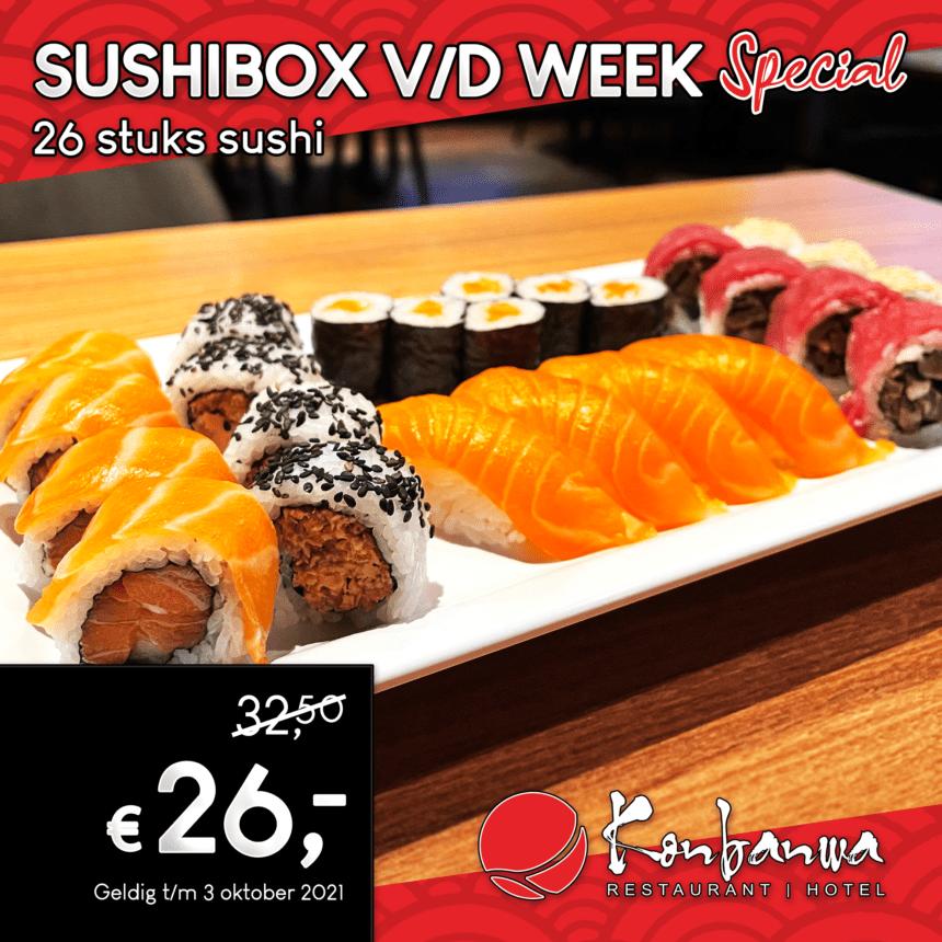 Sushibox v/d week 2021-09-27