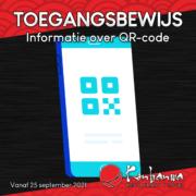 Coronatoegangsbewijs QR-code Konbanwa
