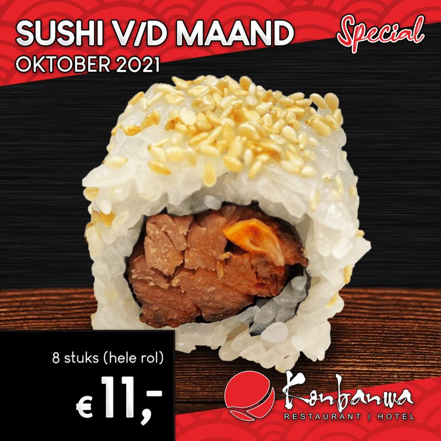 031 Sushi vd Maand - Oktober 2021